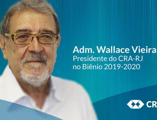 Discurso de encerramento do mandato do Adm. Wallace Vieira, no biênio 2019-2020, à frente do CRA-RJ