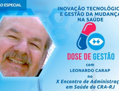 Inovação Tecnológica e Gestão da Mudança na Saúde