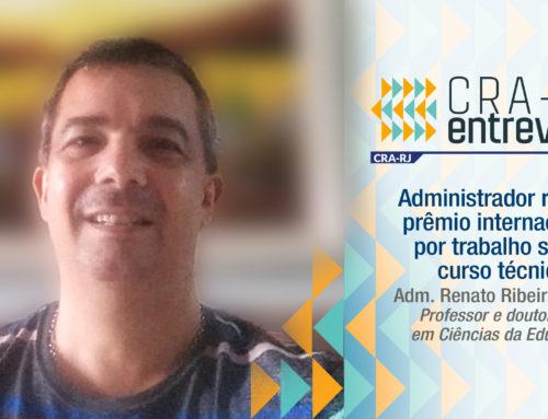 Administrador recebe prêmio internacional por trabalho sobre curso técnico